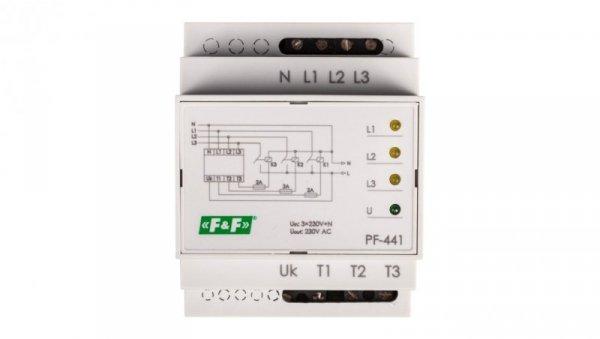Automatyczny przełącznik faz do współpracy ze stycznikami PF-441