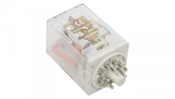 Przekaźnik przemysłowy 2P 10A 230V AC AgNi R15-2012-23-5230-WT 804299