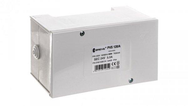 Transformator 1-fazowy PVS 120VA 230/24V /w obudowie IP54/ 16024-9995