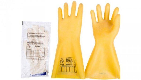 Rękawice elektroizolacyjne ELSEC 2,5 KV rozmiar 11 E06NR-03280100101