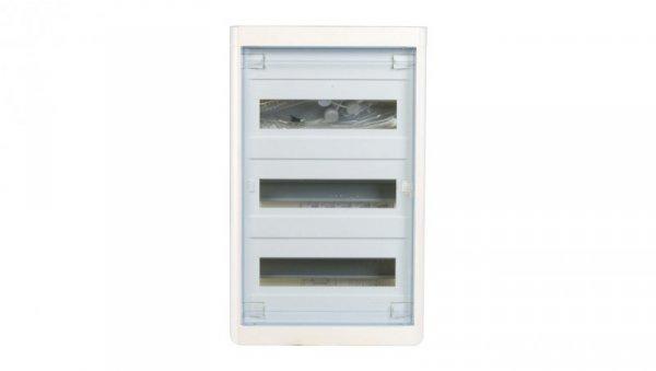 Rozdzielnica modułowa 3x12 natynkowa IP40 Nedbox (drzwi transparentne) 601248