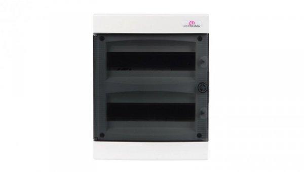Rozdzielnica modułowa 2x12 podtynkowa /transparentna/ IP40 ECM24PT-S DIDO 001101075