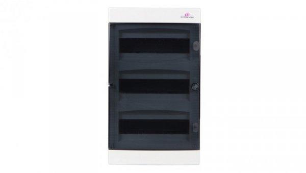 Rozdzielnica modułowa 3x12 natynkowa /transparentna/ IP40 ECT36PT-S DIDO 001101070
