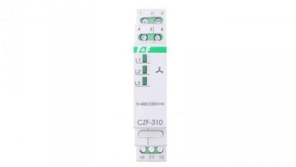 Przekaźnik zaniku i asymetrii faz 10A 1P 4sek 55V CZF-310