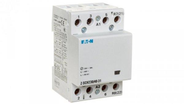Stycznik modułowy 40A 3Z 1R 230V AC Z-SCH230/40-31 248854