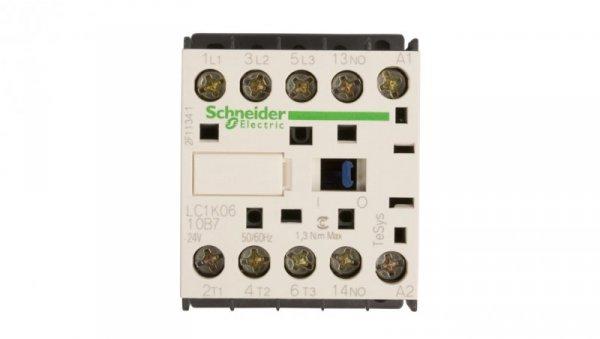 Stycznik mocy 6A 3P 24V AC 1Z 0R LC1K0610B7