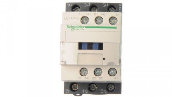 Stycznik mocy 9A 3P 24V AC 1Z 1R LC1D09B7