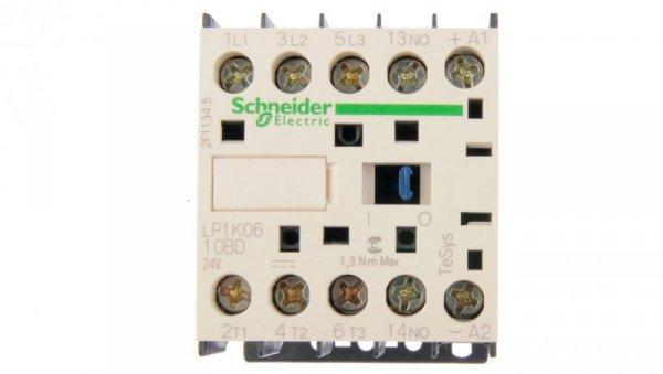 Stycznik mocy 6A 3P 24V DC 1Z 0R LP1K0610BD