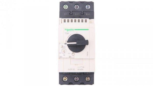 Wyłącznik silnikowy 3P 30kW 48-65A (EVK) GV3P65