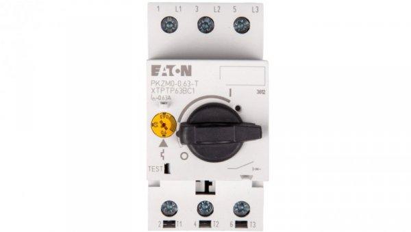 Wyłącznik do transformatorów 3P 0,63A 150kA PKZM0-0,63-T 088910