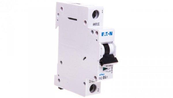 Wyłącznik nadprądowy 1P B 6A 15kA AC FAZ B6/1 278529