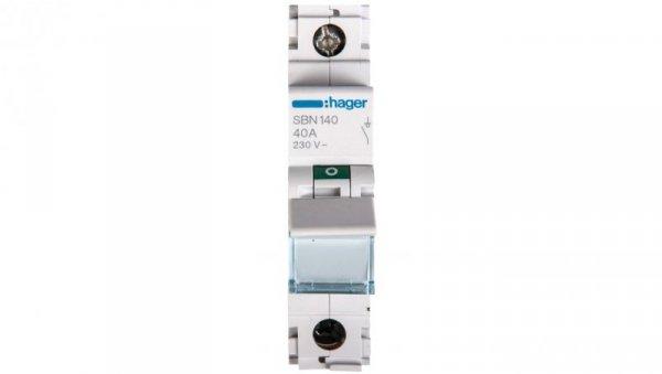 Rozłącznik modułowy 40A 1P SBN140