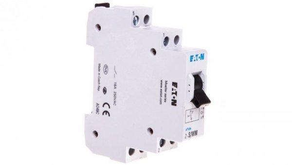 Przełącznik modułowy I-0-II 16A 1P Z-S/WM 248345