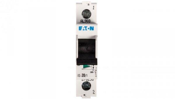 Rozłącznik modułowy 20A 1P IS-20/1 276258