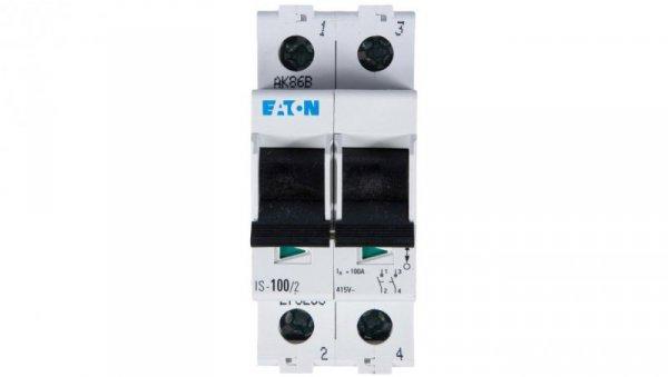 Rozłącznik modułowy 100A 2P IS-100/2 276283