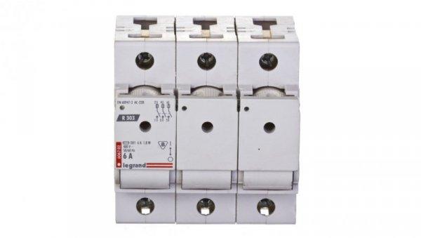 Rozłącznik bezpiecznikowy 3P 6A D01 R303 606702