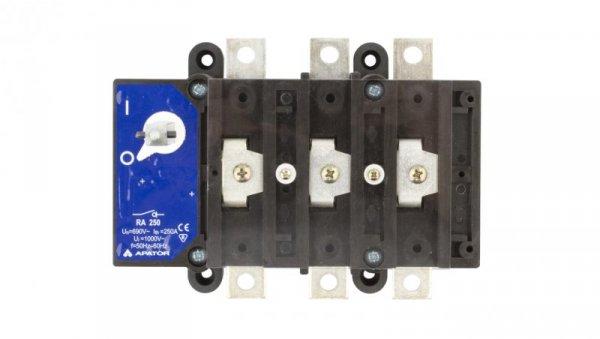 Rozłącznik izolacyjny 3P 250A RA 250 P3 63-822982-021