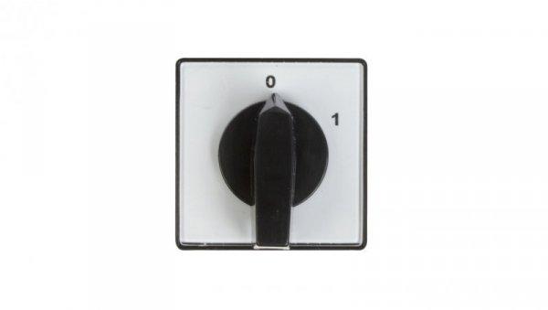 Łącznik krzywkowy 0-1 4P 10A do wbudowania 4G10-92-U 63-840396-011