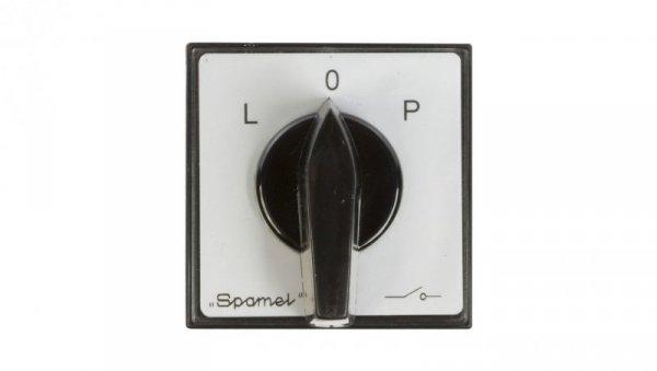 Łącznik krzywkowy L-0-P 3P 40A do wbudowania ŁK40-3.8368P03