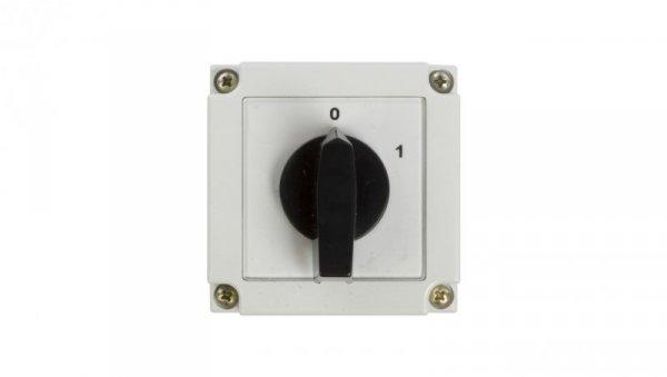 Łącznik krzywkowy 0-1 3P 10A w obudowie 4G10-10-PK 63-840306-011