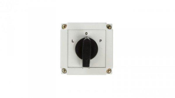 Łącznik krzywkowy L-0-P 3P 10A w obudowie 4G10-11-PK 63-840309-011