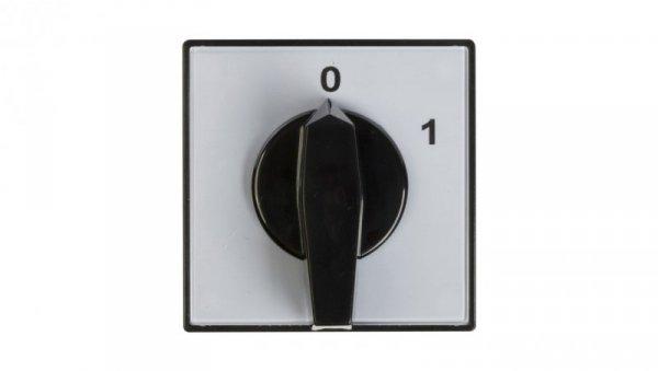 Łącznik krzywkowy 0-1 3P 80A do wbudowania 4G80-10-U 63-840304-061