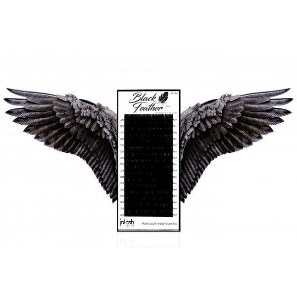 Rzęsy Black Feather B 0,15 Mix
