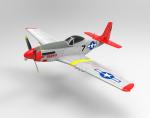 Samolot RC MUSTANG P51D 750mm PNP Bezszczotkowy