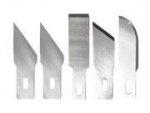 Maxx Knives - Zestaw 5 ostrzy (#18, #19, #22, #24) zamiennych do noży 50005, 50006, 50015