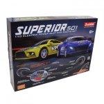 Zestaw Slot Cars Special 501 1:43 - 662cm, 2 ściany, cyfrowy licznik, 240V