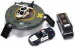Zestaw pojazdów policyjnych z platformą helikoptera 1:20
