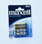 Bateria alkaliczna MAXELL ALKALINE 1,5V AAA LR03 4szt.