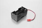 Koszyczek na 4 akumulatory R6/AA z wyjściem BEC
