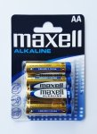 Bateria alkaliczna MAXELL ALKALINE 1,5V AA LR6 4szt.
