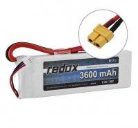 Redox 3600 mAh 11,1V 20C - pakiet LiPo XT60
