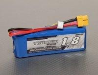 Akumulator Turnigy LiPo 1800mAh 11,1V 3S 20 - 30C