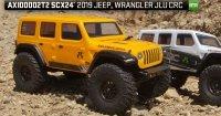 Axial SCX24 2019 Jeep Wrangler JLU CRC 1:24 4WD RTR żółty