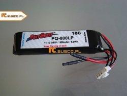 POLYQUEST-Batterist - akumulator LiPo 800mAh / 3S - 18C