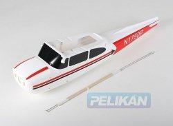 Cessna 480 - Kadłub z bowdenami