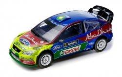 AUTO RC Ford Abu Dhabi Focus RS WRC 2009 SILVERLIT ŚWIATŁA LED