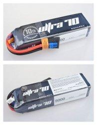 Akumulator Li-Po Dualsky 5000mAh ULTRA 70C/12C 11.1V Volt. Meter