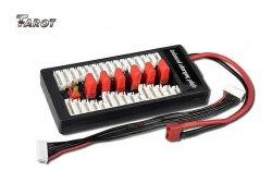 Para-Board DeansT 6 akumulatorów / 6 cel Tarot równoległe ładowanie nawet 6 akumulatorów