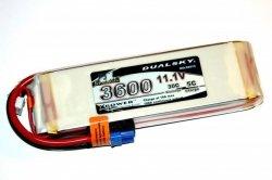 Akumulator Li-Po Dualsky 3600mAh 30C/5C 11.1V