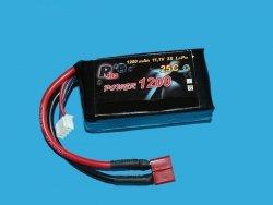 RMS - akumulator LiPo 11,1V 1200mAh / 3S - 25C