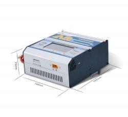 EV-PEAK Ładowarka A8 1350W 45A 8S Graficzny wyświetlacz