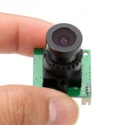 Kamera płytkowa 700TVL CMOS 2.8mm NTSC szerokokątna 120°