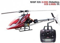 SKYARTEC WASP X3S 2.4GHz 6CH Flybarless RTF (bezszczotkowy, loty
