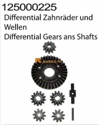 Differential Gears and Shafts