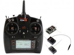 DX6 DSM X Spektrum, AR636, AR610, AR400 Mode 1-4