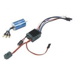 Silnik bezszczotkowy Xcelorin 1:18 9400obr/V + regulator
